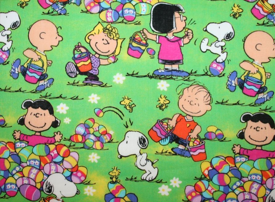 PÂQUES-SNOOPY-EASTER