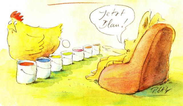 La poule et le lapin centerblog - Photos poules rigolotes ...
