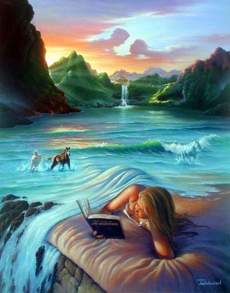 La femme et la mer. dans POESIES EN IMAGES 7037kg4s