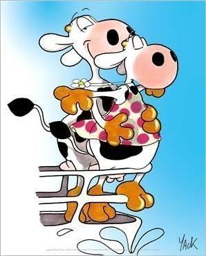 Les vaches de yack - Vache dessin humour ...