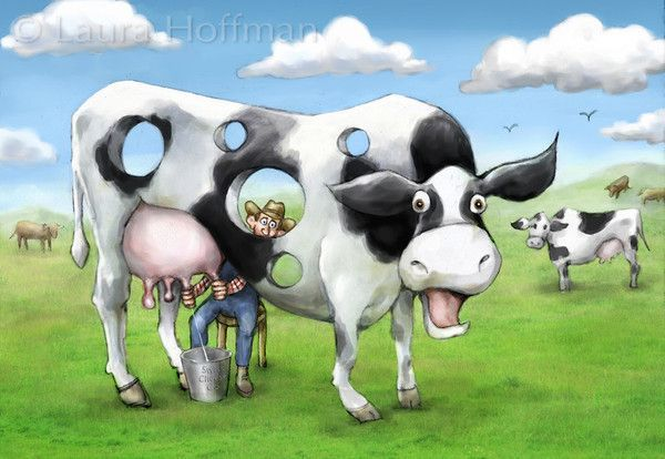 VACHES-LH-HOLEY COW
