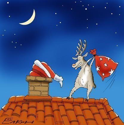 gif navidad humor: