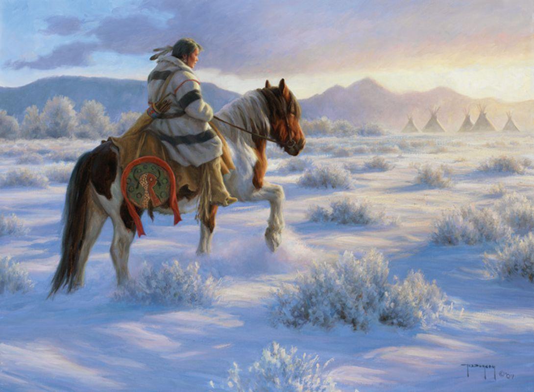 peinture chevaux wallpaper - photo #44