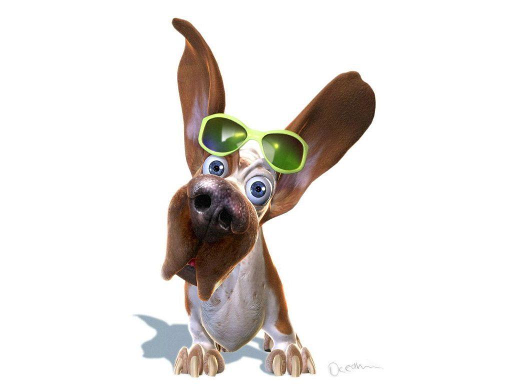 Dibujos divertidos de perros | El gallinero
